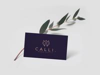 simplistic multidimensional retail logo concept