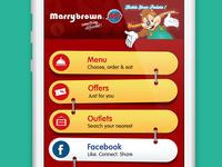 Marrybrown App Concept
