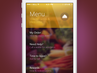Foodango iOS App Home