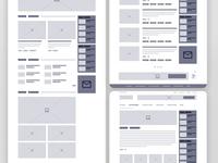 Wireframe Blog
