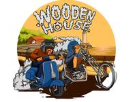 Wooden House Collabs  T-Shirt tshirt design vector artwork design art tshirt graphics art artworks illustration ilustration design ilustrator