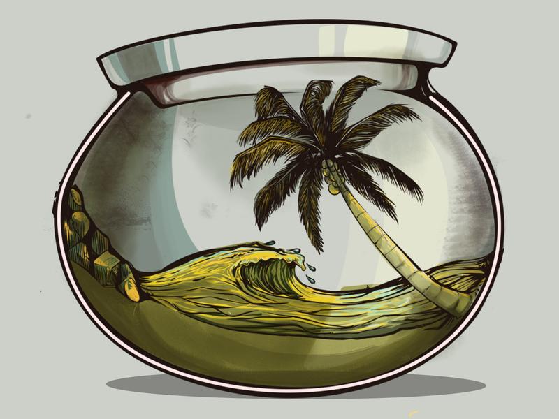 Aquascape Logo Vector - Aquascape Ideas