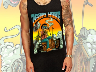 T-ShirtDesign Vespa Drum