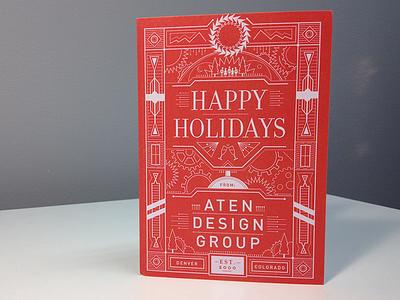 Aten Holiday Card 2013 atendesigngroup holiday print