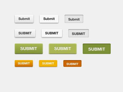 CSS3 Buttons css3 buttons html