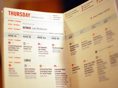 DrupalCon Denver Badgelet design print drupal drupalcon denver colorado schedule