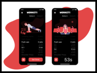 Daily UI #41 - Workout Tracker