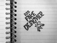 Fake designer