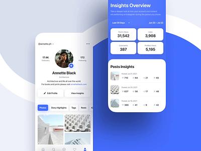 Instagram App Redesign social photography app design mobile app interaction product design instagram mobile ui mobile app ux concept design ui