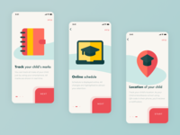 Onboarding Tutorial ux ui web design iphone onboarding screen app elearning estudy yearbook screen study school tutorial onboarding free ios app ios freebies freebie