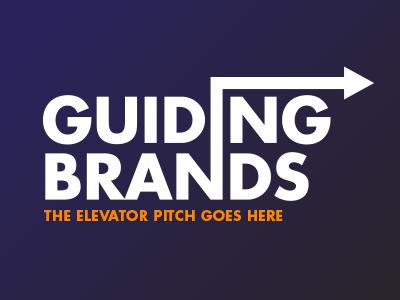 Guiding Brands logo design brands