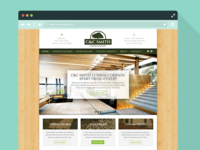 Simple theme for lumber company