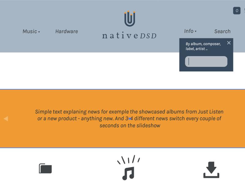 Native DSD website  by Fernand et Firmin | Dribbble | Dribbble