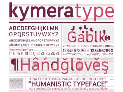 Kymera typeface