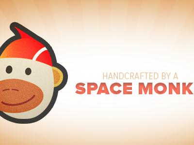 Space Monk illustration doodle