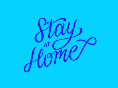 Stay at home interior make love read books chill quarantine confinement letters lettrage calligraphy graphic design typography good type celebrate the day appreciation sharing caring better health fight covid home stay