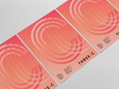 Design Exhibition poster for Three-C Creative studio