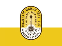 Banjo Badge