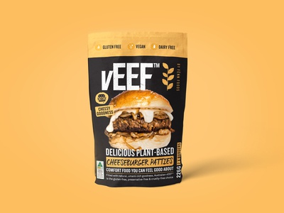 vEEF Vegan Packaging Design