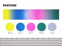 Neon Color Block Palette