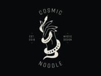 Cosmic Noodle Concept Logo