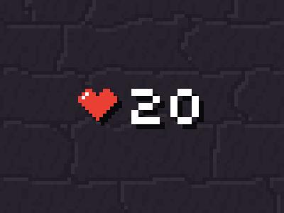 Health game pixel art pixelart