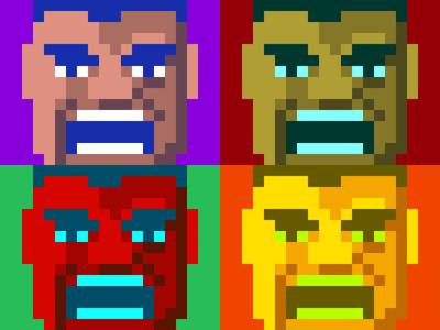 Hulkaverse pixel art