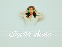 Hipster Score