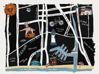 Marina Del Rey Illustrated Map