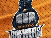 Bad News Brewers Jersey Logo