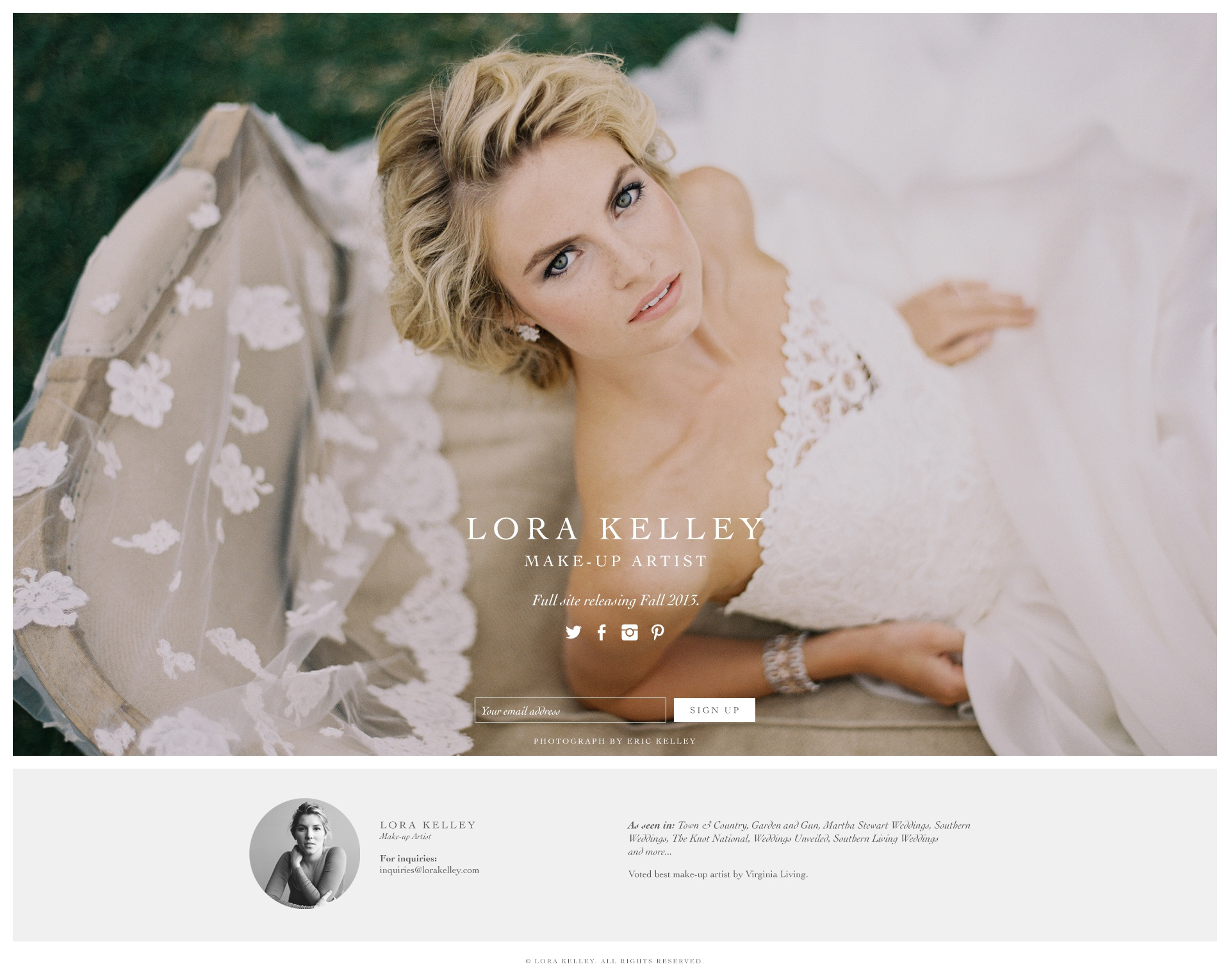 Makeup Artist Web PageFree Templates Page 20