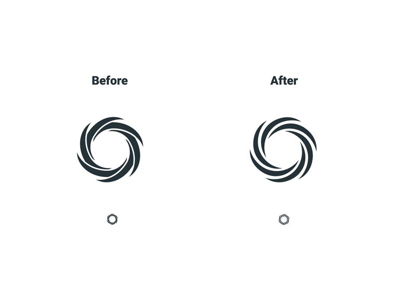 Unused Identity Refinement mcnair haus mark refinement identity logo design