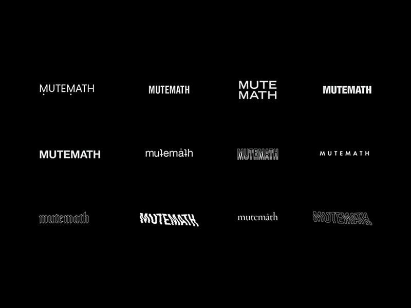 MUTEMATH / Identities logo branding typography mcnair haus play dead mmlp5 mutemath graphic design art direction