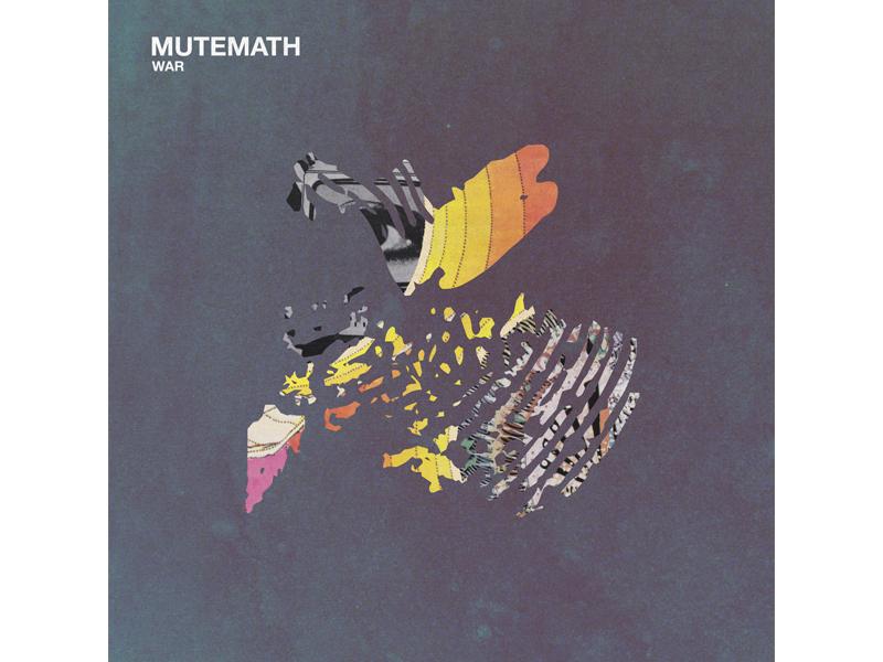 MUTEMATH / War album cover war mcnair haus darren king play dead mmlp5 mutemath colors mood texture graphic design art direction