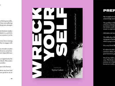 wreck your self essays by taylor gahm by zach mcnair 👋 dribbble wreck your self essays by taylor gahm