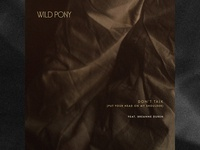 Wild Pony / Don't Talk (Put Your Head On My Shoulder)