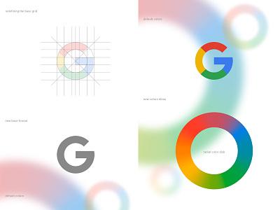 Google Re-Design ui redesign branding re-design google