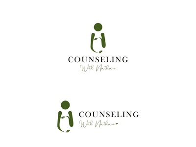 Counseling With Nathan Logo Concept
