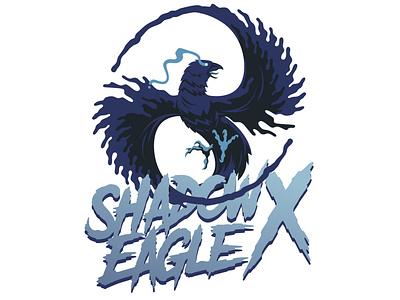 Shadow Eagle X - Logo Design logodesign twitch streamer videogames illustrator design logo branding illustration