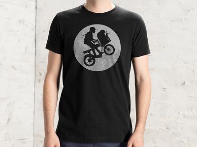 Super Terrestrial clothing design illustrator drawing illustration teedesign bicyle ebike