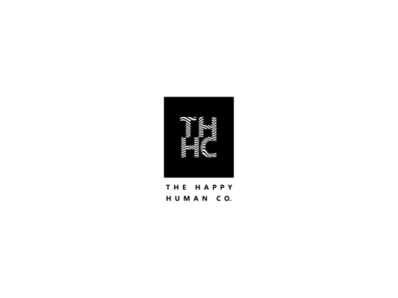 The Happy Human Co. Design 02 logo alphabet monogram logo monogram logo branding logo ideas logo design illustration homeware human icon human logo happy logo h logo t logo c logo