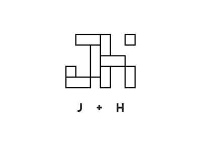 J and H monogram concept