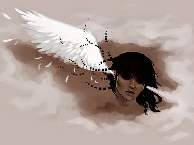 Shadowland drawing illustration