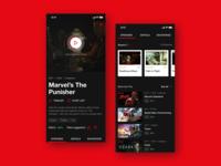 Netflix TV Show Adaptive Page Concept