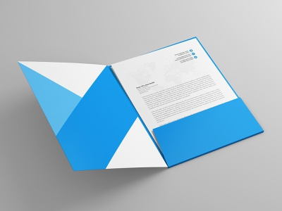 A4 Folder & Paper Mock-Up paper pages page open objects mockups mockup mock up literature library knowledge kid hardcover hard-cover education design cover books book
