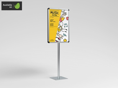 2 Sided Stand / Board Mock-Up