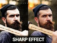 Sharp Effect Photoshop Action