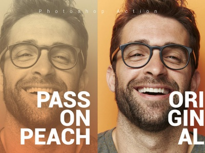 Pass On Peach Photoshop Action pass on peach photoshop action photo effect 10 off creative discount best deal best selling photoshop overlays effects lightroom presets editing photography photoshop action photographers graphic design design campaign
