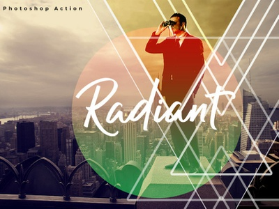 Radiant Photoshop Action radiant photoshop action photo effect 10 off creative discount best deal best selling photoshop overlays effects lightroom presets editing photography photoshop action photographers graphic design design campaign