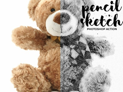 Pencil Sketch Photoshop Action pencil sketch photoshop action pencil sketch photo effect 10 off creative discount best deal best selling photoshop overlays effects lightroom presets editing photography photoshop action photographers graphic design design campaign